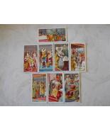 8 Wills's Cigarette Cards 1911 British Coronation # 4, 5, 11, 12, 13, 18... - $10.50