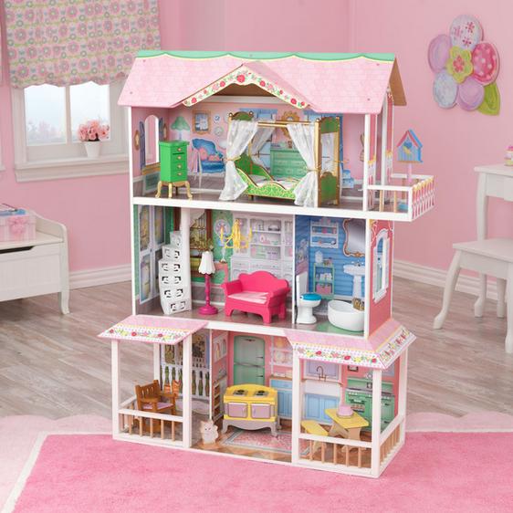 Dollhouse Kidkraft Girls Big Doll House And 50 Similar Items