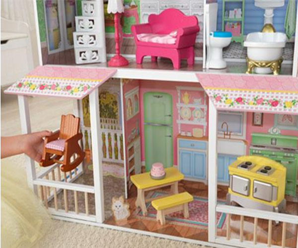 Dollhouse Kidkraft Girls Big Doll House Furniture Large Wooden Kids Childern Toy Doll Houses
