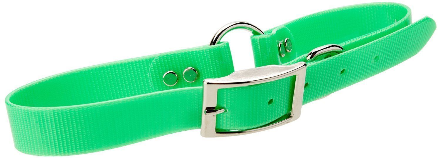 "Mendota 1"" Day Glow Green 22"" Water Proof Replacement ""O""Ring Strap"