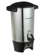 Coffee Urn Hamilton Beach 42-Cup Silver Container Service Crowd Event M... - $57.10