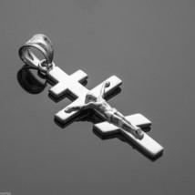 925 Sterling Silver Russian Orthodox Crucifix Pendant - $19.99
