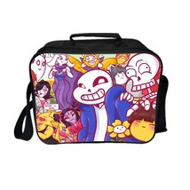 Undertale Lunch Box New Series Lunch Bag Family Two - $19.99