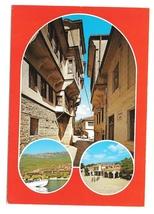 Macedonia Ohrid Multiview Vintage Postcard 4X6 Yugoslavia Jugoslavia - $4.74