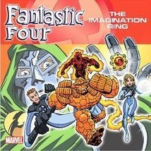Fantastic Four The Imagination Ring Marvel Super Hero Kids Story Book - $1.99