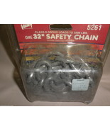"""Valley Industries 32"""" Safety Chain Class II Gross Loads 3,500 Lbs. #5261 - $10.88"""