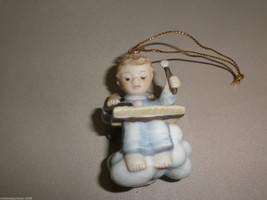 Goebel Berta Hummel Heavenly Chorus Angel Bell Ringer Ornament #935046 - $11.88