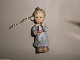 Goebel Berta Hummel Ssshh ( Boy With Candle) Ornament #935098 - $14.85