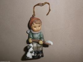 Goebel Berta Hummel Little Snow Shoveler Ornament #935103 - $14.85