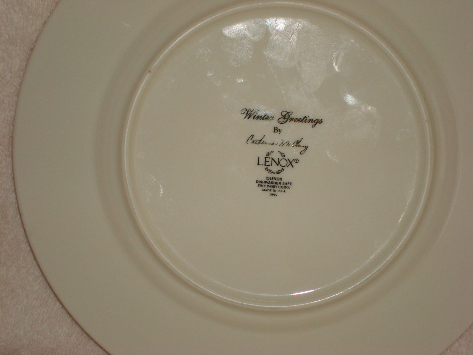 Lenox winter greetings salad plate and 50 similar items lenox winter greetings salad plate m4hsunfo