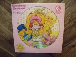 Strawberry Shortcake LP Vinyl Picture Disc, Vintage 1981 - $16.99