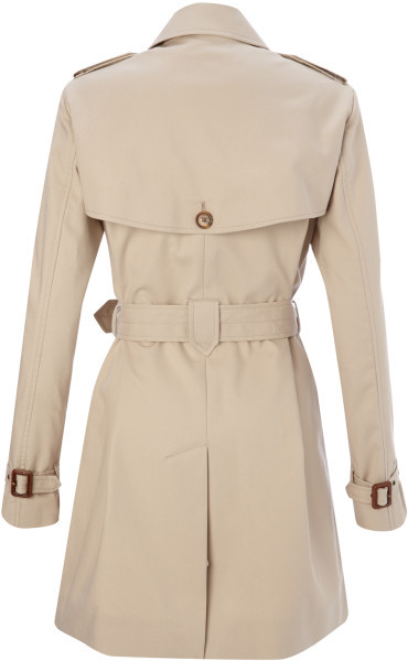 French Connection Smart Catch Trench Coat size 10