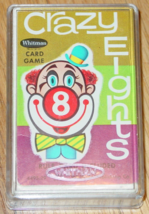 Cards Crazy Eights Card Game Whitman 1951 Made In Usa #4495 Complete - $12.00