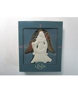 Lenox China 2 Sided Angel Holding Joy Banner Christmas Ornament - $9.99