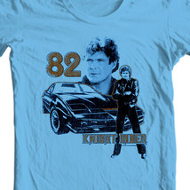 Knight Rider 82 t shirt retro 80s nostalgic tv show David Hasselhoff NBC493 image 1