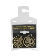 NECA The Hunger Games: Catching Fire Mockingjay Hoop Earrings - $2.93