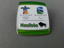 Vancouver 2010 - Winter Olympic Game - Province of Manitoba Pin - Stamped !! - $19.00