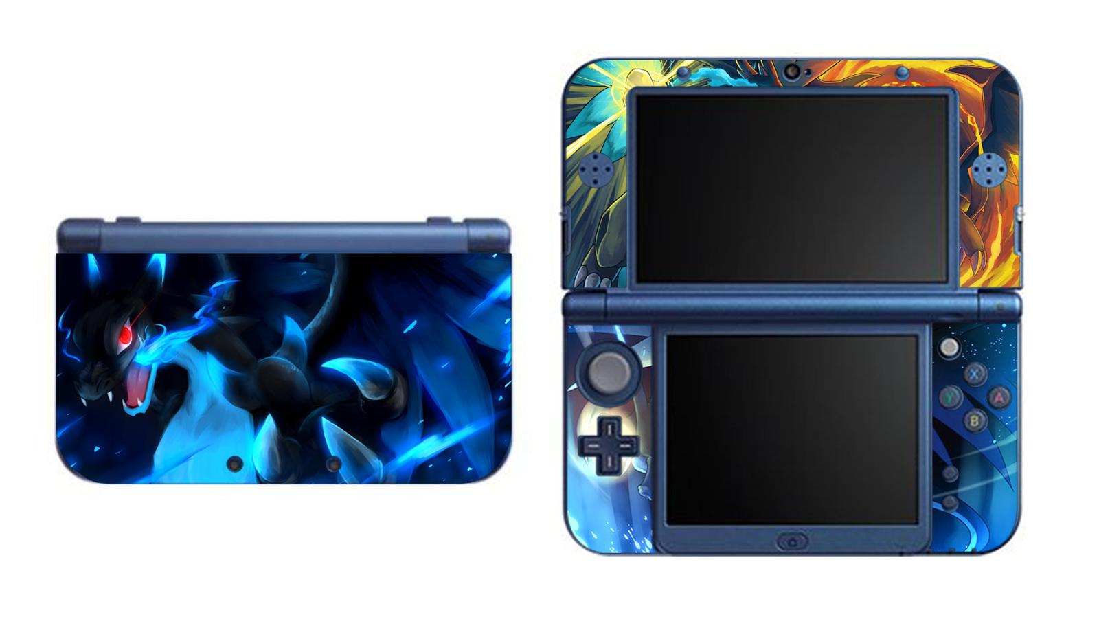 Pokemon Charizard X Y NEW Nintendo 3DS XL LL Vinyl Skin Decal Sticker, used for sale  USA