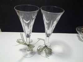 Waterford Tall Champagne Flute With Hearts~~~ - $44.99
