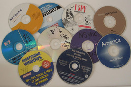 10 CDs for Crafts Art Supplies - $6.85