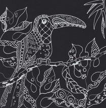 "Akimova:TOUCAN, bird, fantasy, relaxing art, ink pen drawing, 6""x6"" - $2.99"