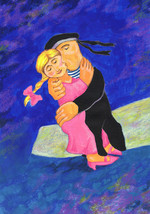 Akimova: DANCE, girl, man, sailor - $8.30