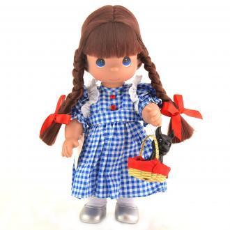 "Precious Moments Doll The Wizard Of Oz Dorothy Toto 12"" Tall Maker Linda Rick"
