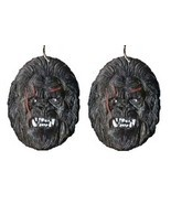 Funky Big Foot SASQUATCH EARRINGS BigFoot King Kong Ape Gorilla Costume ... - $6.99
