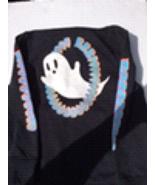 Art Class Halloween Boys Fun Black Ghost Hoodie Size small 6/7 NWT  - $14.99