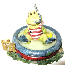 "Boyds Bear*Wee Folkstones..Ribbit & Co.""LLoyd Tadpole,, Surfs Up"" #36708... - $12.99"