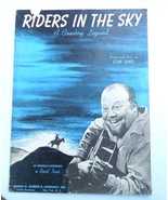 """Vintage 1949 Country Western Music """"Riders in the Sky""""  A Cowboy Legend ... - $5.79"""