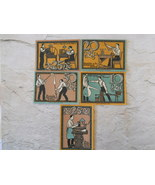 5 Pieces Notgeld, Stützerbach, Germany 1921, Im... - $9.50