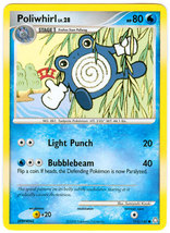 Poliwhirl 115/146 Common Legends Awakened Pokemon Card image 3
