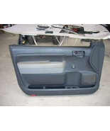 2007 TOYOTA TUNDRA LEFT FRONT DOOR TRIM PANEL  - $80.00