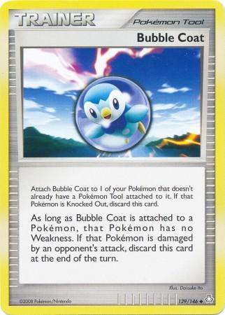 Bubble Coat 129/146 Uncommon Trainer Legends Awakened Pokemon Card image 3