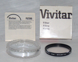 Vivitar 48mm SKYLIGHT 1A FILTER 48SKY Made In Japan  BRAND NEW  48 - $7.95
