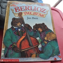 Fun Book by Jan Brett about a Stubborn Mule,  Musicians, & Berlioz the Bear  - $1.00