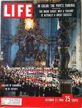 Life Magazine, October 27, 1958   Full Magazine - $9.89