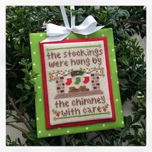 By The Chimney #7 Classic Ornament cross stitch Country Cottage Needleworks - $5.40