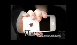 Itwist by Skulkor Iphone Magic trick +DVD best socking borrowed phone - $12.85