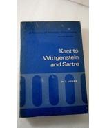 Kant to Wittgenstein and Sartre, History Western Philosophy, W T Jones - $15.00