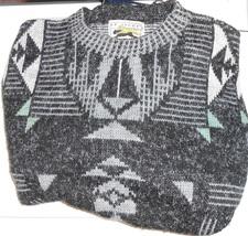 1980s Le Tigre Sweater Mens XL - $20.00