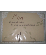 Handmade card for Mom, handcrafted, homemade, birthday, mother's day gre... - $1.50