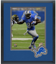 Ryan Broyles 2014 Detroit Lions - 11 x 14 Team Logo Matted/Framed Photo - $42.95