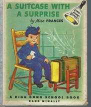 A SUITCASE WITH A SURPRISE-Miss Frances Ding Dong School Book;1953; #202... - $19.97