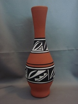 Cedar Mesa Native American Signature Pottery  8 1/2 Inch Vase - $12.99