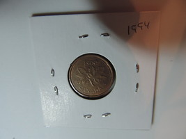 1994 Canadian Penny coin A164 - $2.54