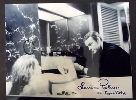 JAMES BOND / AUTOGRAPH PHOTO COLLECTION ) LUCIANA PALUZZI  ITEM # 12 - $123.75