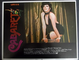 LIZA MINNELLI (CABARET) ORIG,HAND SIGN AUTOGRAPH ON ORIG, LOBBY CARD  (C... - $198.00