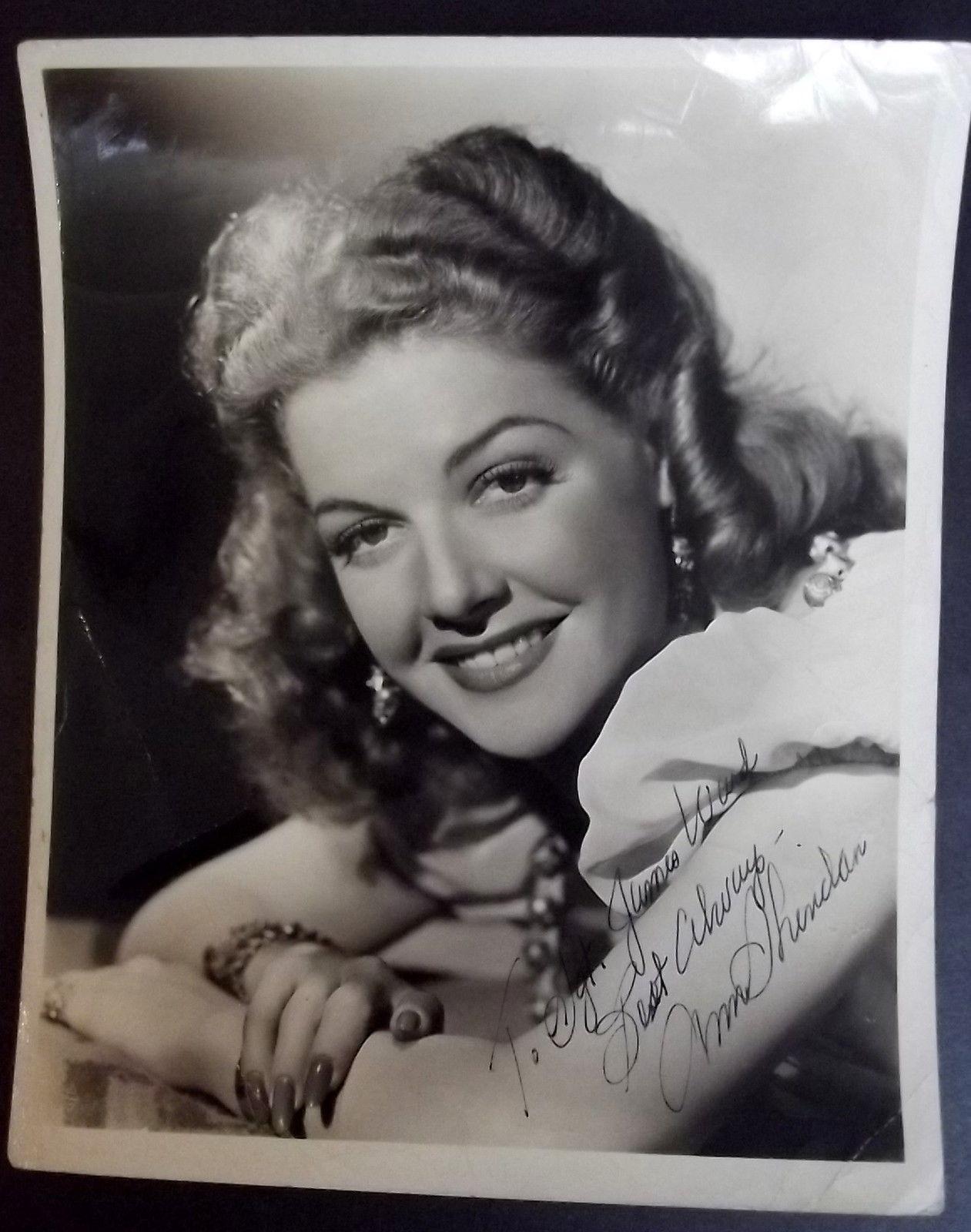 ANN SHERIDAN (ORIGINAL VINTAGE 1940,S AUTOGRAPH PHOTO) CLASSIC 40,S ACTRESS (WOW